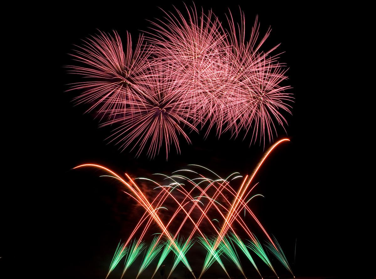 Bild 5 Feuerwerke mit Qualität