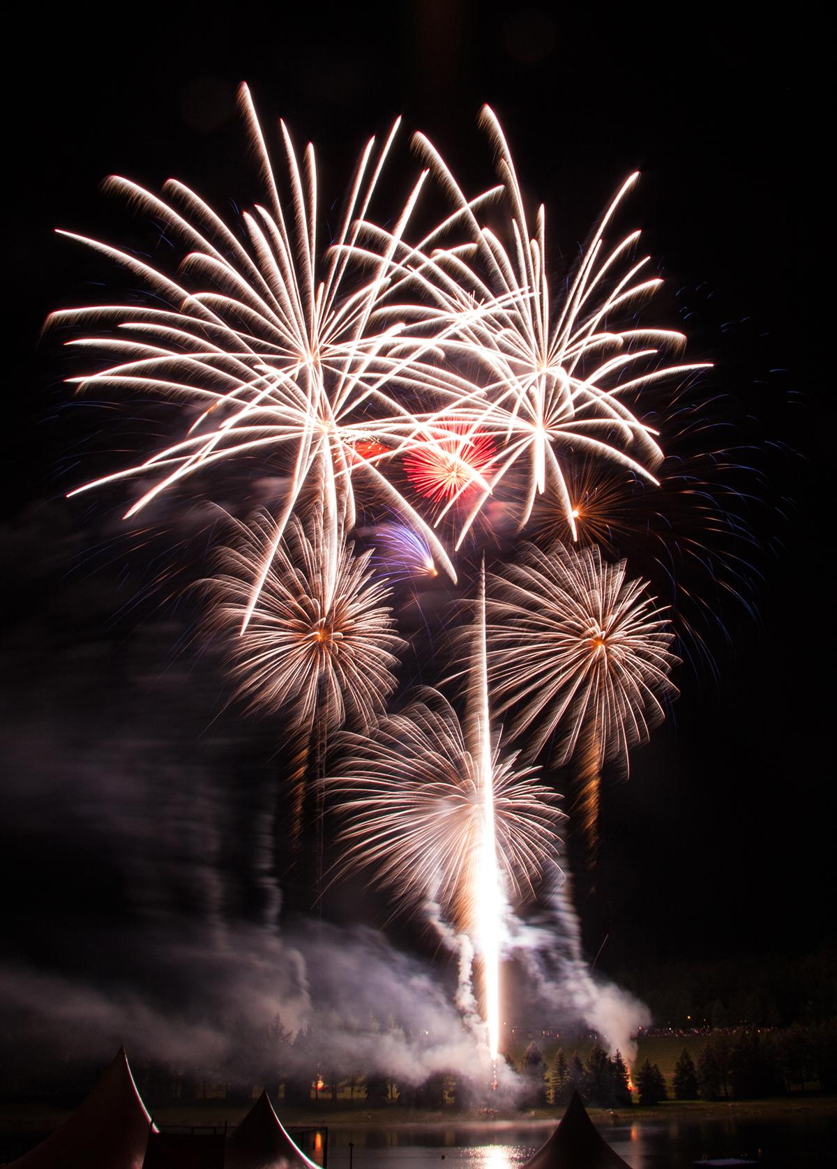 Bild 1 Feuerwerke mit Qualität